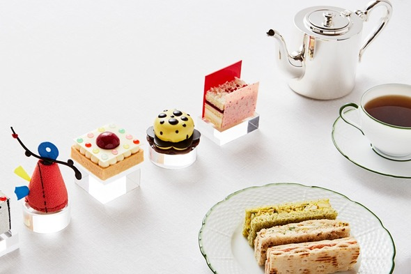 Art afternoon tea at Rosewood London
