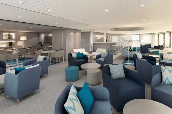 Ponant - Le Lyrial Observation Lounge