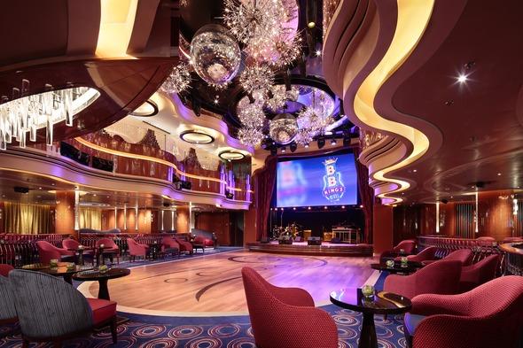Holland America Line - MS Koningsdam Queen's Lounge