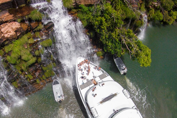 True North Cruises at King George Falls, Australia