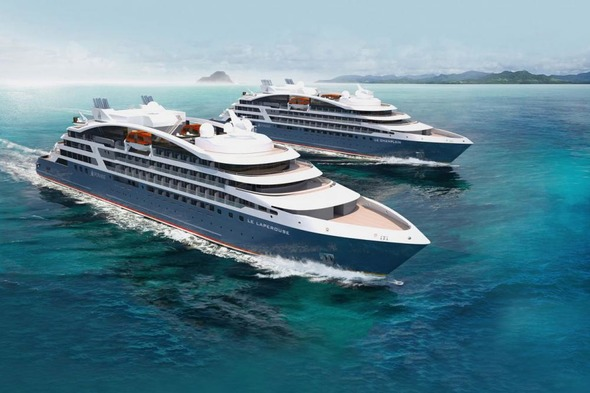Ponant's Explorers, part of a new generation of more eco-friendly cruise ships