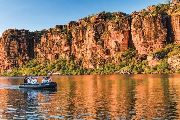 Lindblad Expeditions - Zodiac in the Kimberley, Australia