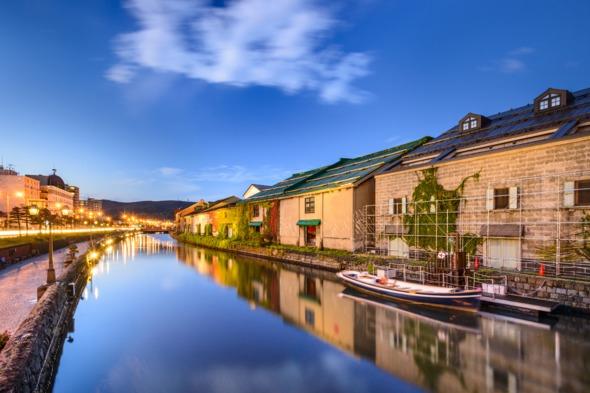 Otaru historic canal