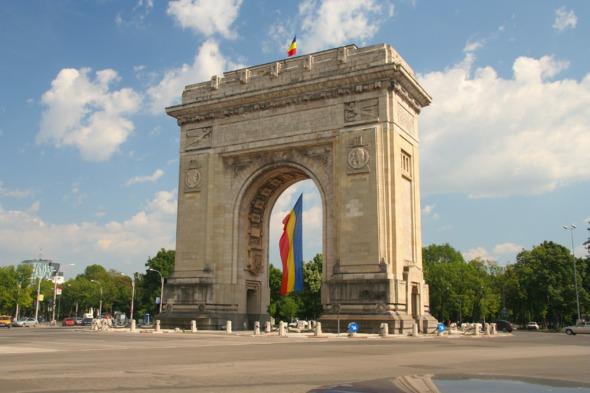 Arcul de Triumf, Bucharest