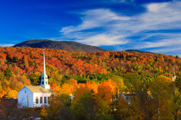Fall colours, Vermont