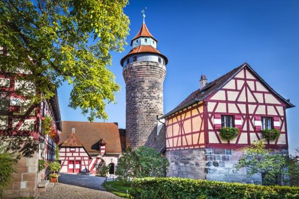 Nuremberg castle, Germany