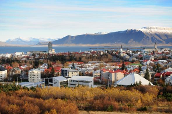 Reykjavik skyline, Iceland