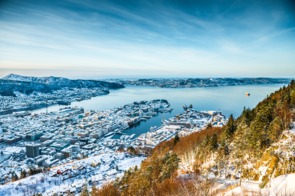 Bergen in winter