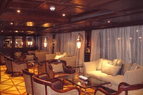 Uniworld River Tosca lounge