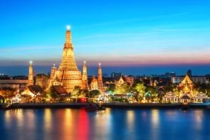 Wat Arun Temple at night, Bangkok