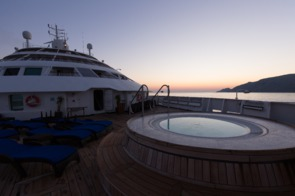 Windstar Cruises - Star Breeze Jacuzzi