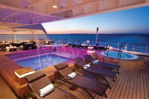 Seabourn Cruises - Odyssey, Quest and Sojourn - Aft pool