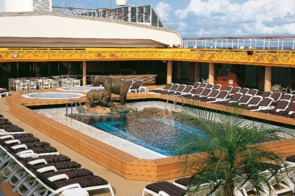 Holland America Line cruises - MS Amsterdam pool deck