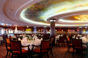 Crystal Cruises - Crystal Serenity Dining Room