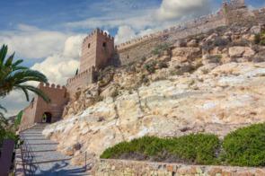 Alcazaba and Cerro de San Cristóbal, Almeria, Spain