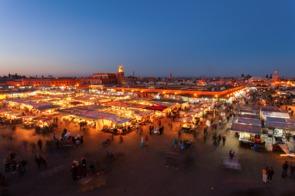 Jemaa el Fna square, Marrakech