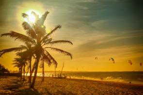 Praia de Cumbuco, Fortaleza, Brazil