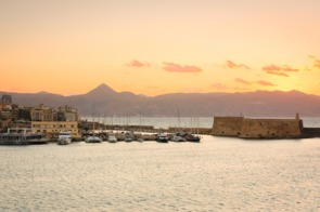 Castle in Heraklion, Crete