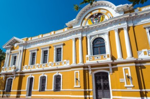 City Hall in Santa Marta, Colombia