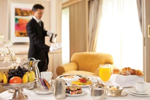 Silver Cloud - In-suite dining