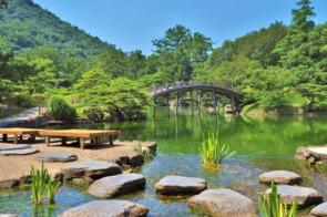 Ritsurin Koen garden, Takamatsu