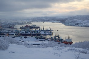 Port of Murmansk, Russia