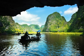 Cave in Ha Long Bay, Vietnam