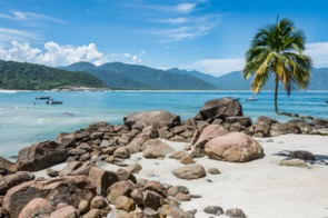 Beach on Ilha Grande, Brazil
