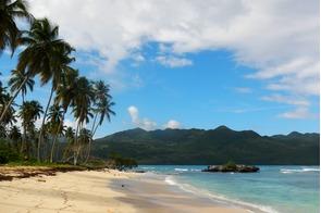 Rincón beach in Samaná, Dominican Republic