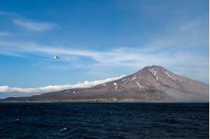 Matua island, Russian Far East