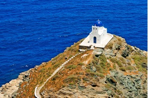Church on Sifnos island, Greece
