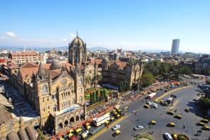 Railway terminus, Mumbai