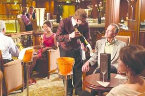 Queen Elizabeth Veuve Clicquot Bar
