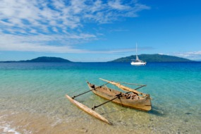 Outrigger canoe, Madagascar