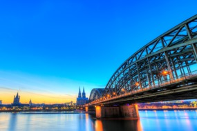 Bridge over the Rhine, Cologne