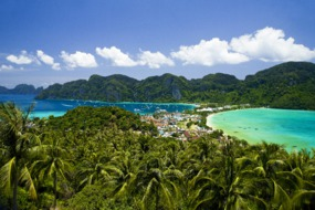 Phi Phi Island, Thailand - A great winter cruise destination
