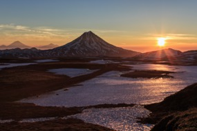 Russian Far East cruises - Viluchinsky volcano, Kamchatka
