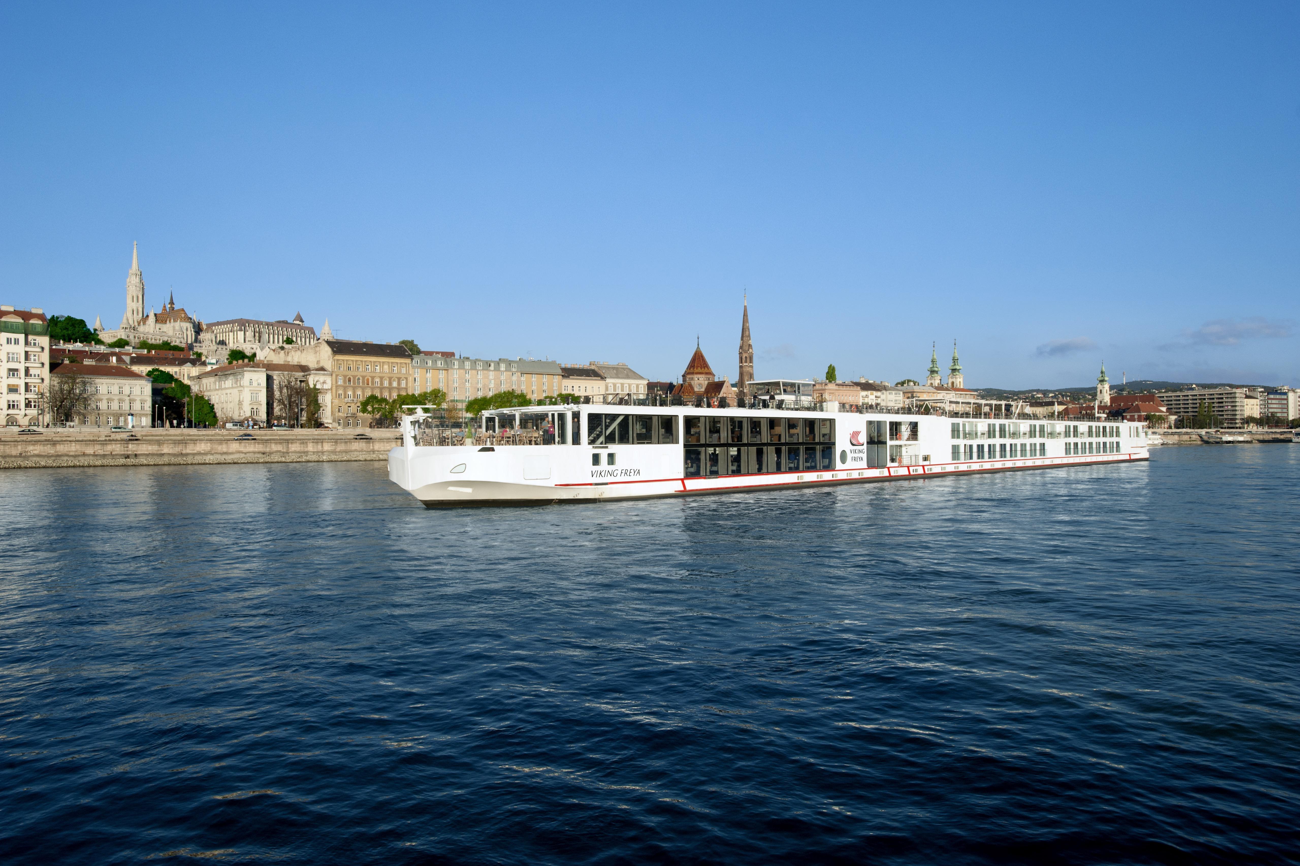 Viking Freya in Budapest