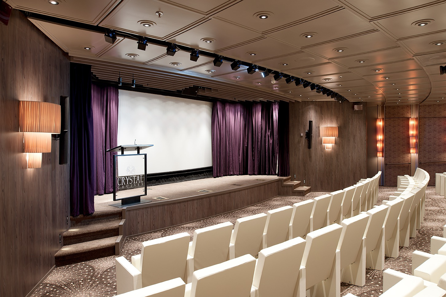 Crystal Cruises - Crystal Symphony Hollywood Theatre