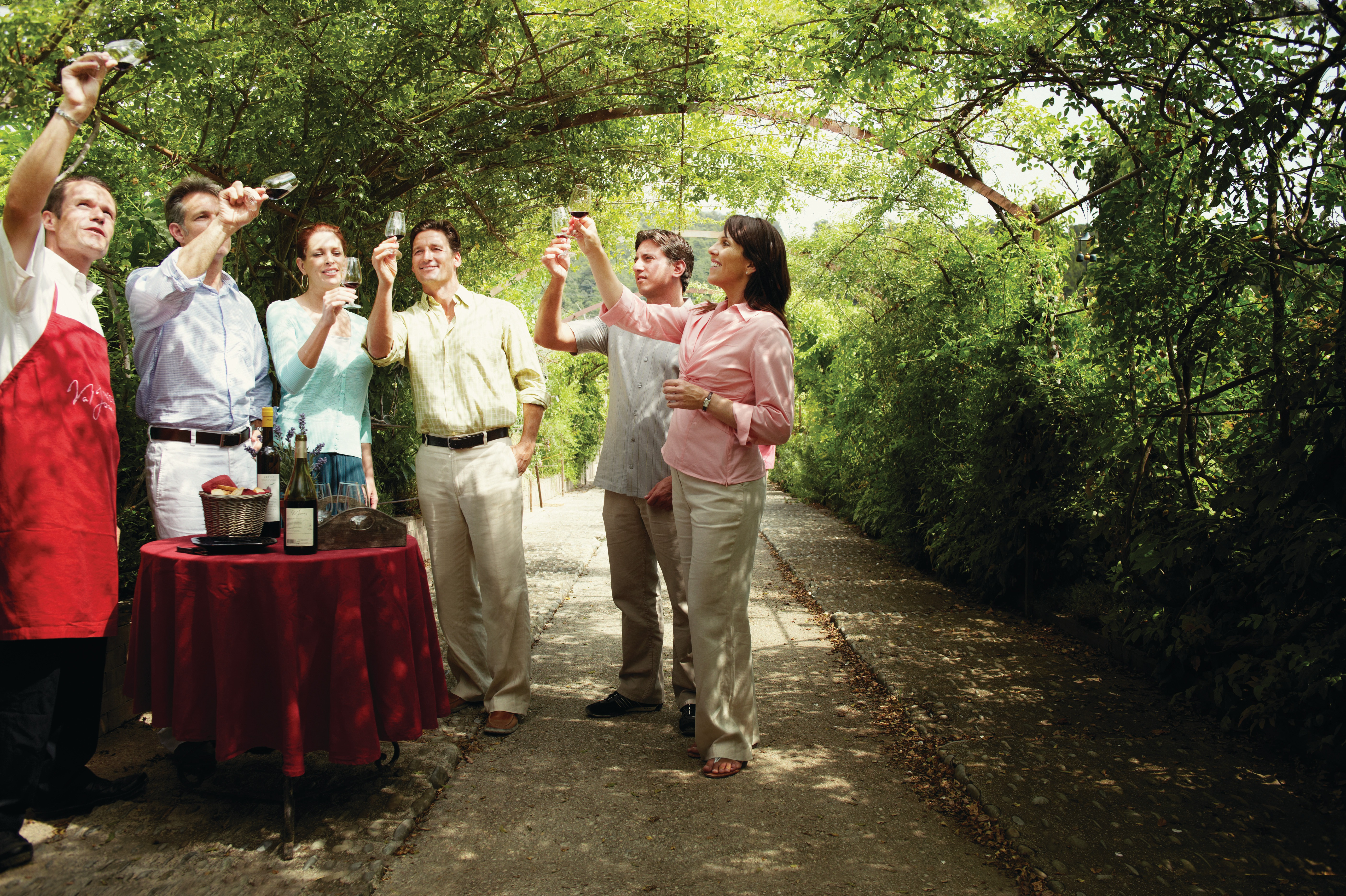 Silversea wine tasting excursion