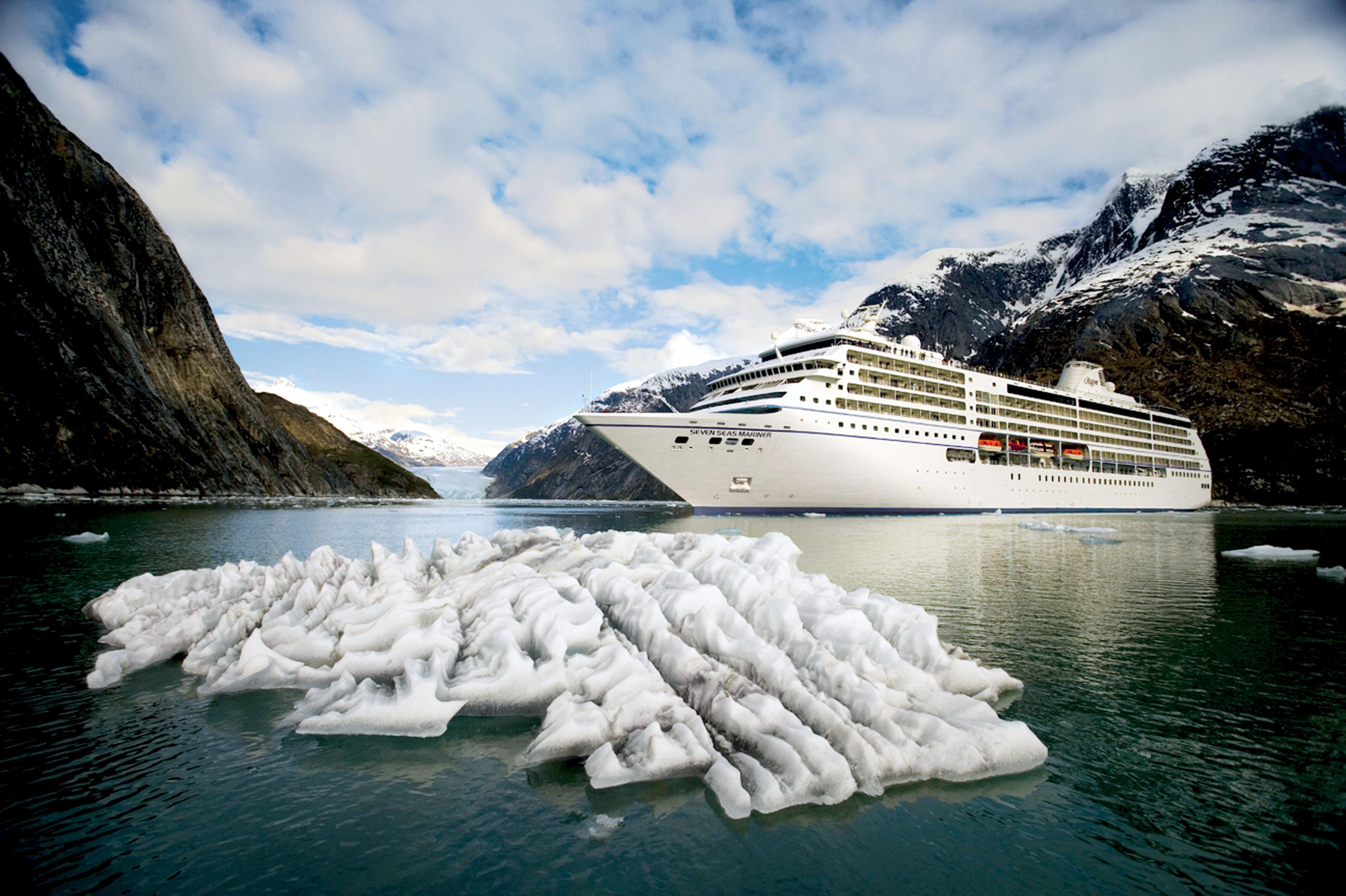 Regent Seven Seas Marina in Alaska