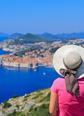 Single traveller, Dubrovnik