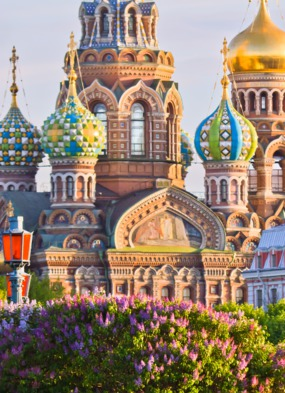Orthodox church in St Petersburg, the highlight of Darren's cruise on Oceania Nautica