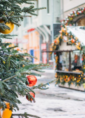 Christmas cruises - A Christmas market in Europe