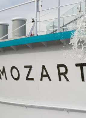 Crystal Mozart review - Christening ceremony in Vienna