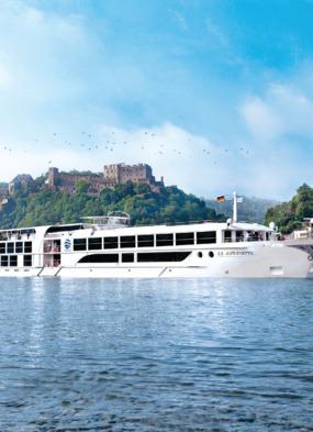 Uniworld cruise on the river Rhine