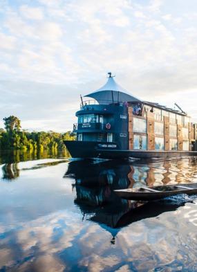 Aqua Expeditions - Amazon river cruise