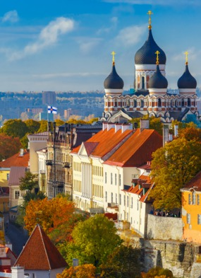 Tallinn, Estonia - One of the highlights of a Baltic cruise