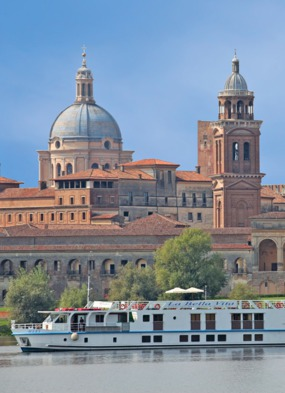 Po river cruise review - European Waterways' La Bella Vita in Mantua, Italy