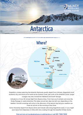 Mundy Adventures Antarctica Guide